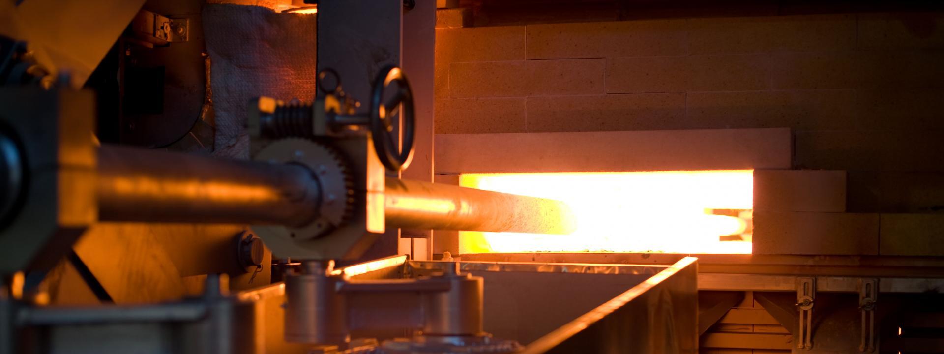 Retenice float process AGC glass - Термическая обработка