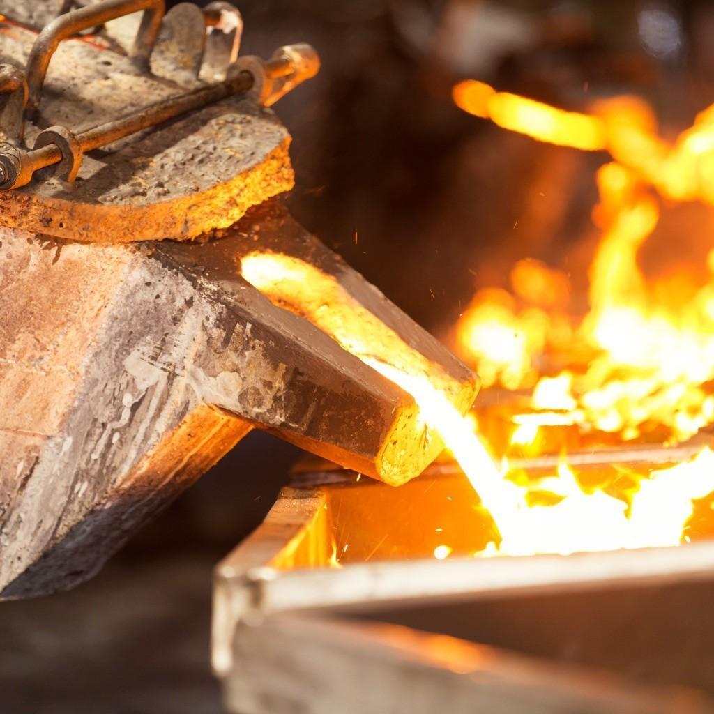 molten metal heat mold - Термическая обработка