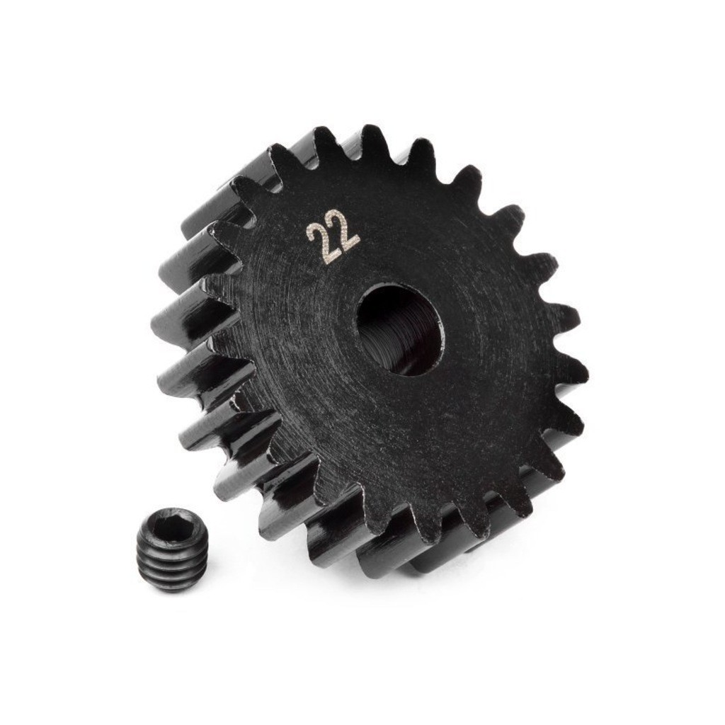pinion gear 22 tooth 1m 5mm shaft 0826127822135630 - Шестерни