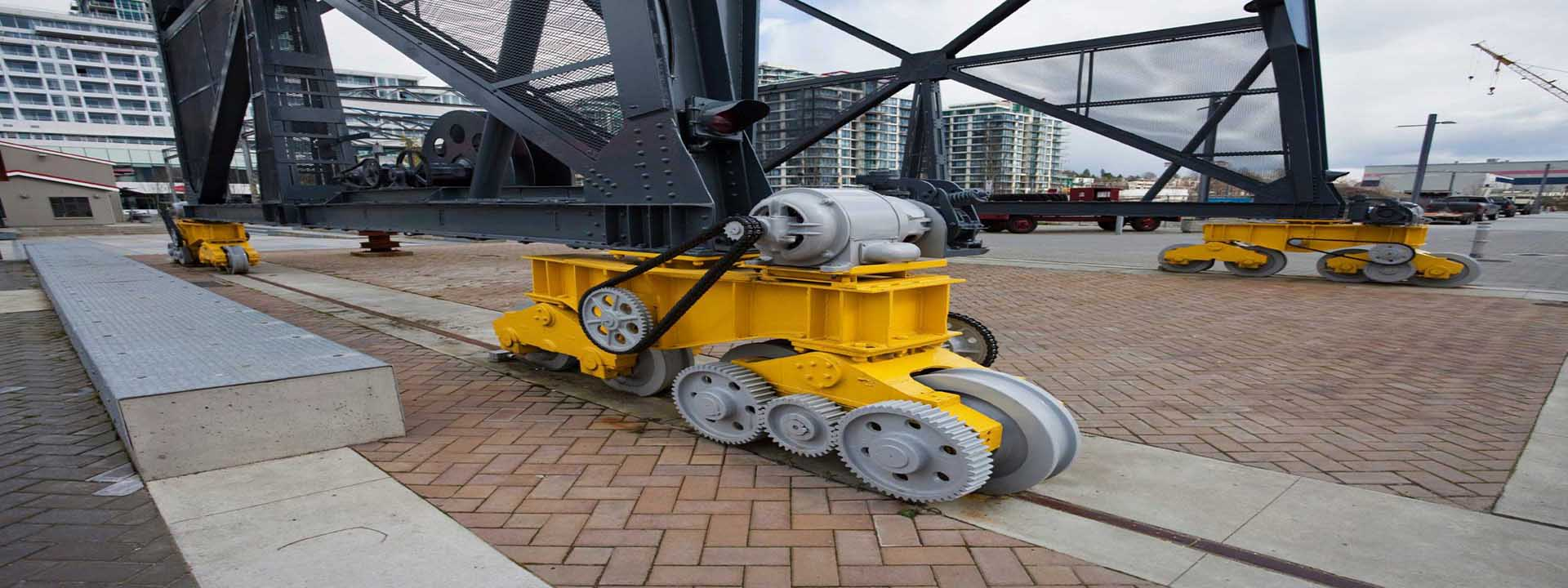 remont krana - Двухребордное колесо